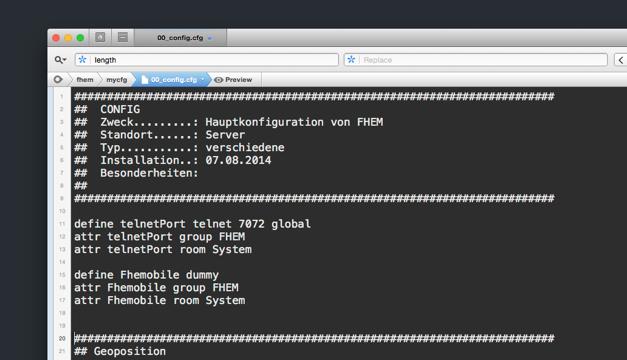 Meine FHEM Konfiguration – Geräte an- und ausschalten für Fortgeschrittene