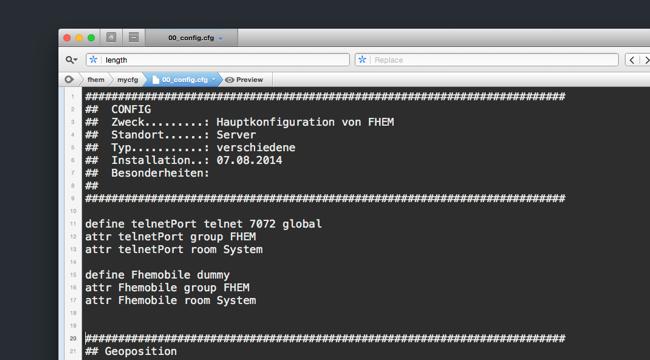 Meine FHEM Konfiguration – Fritzbox