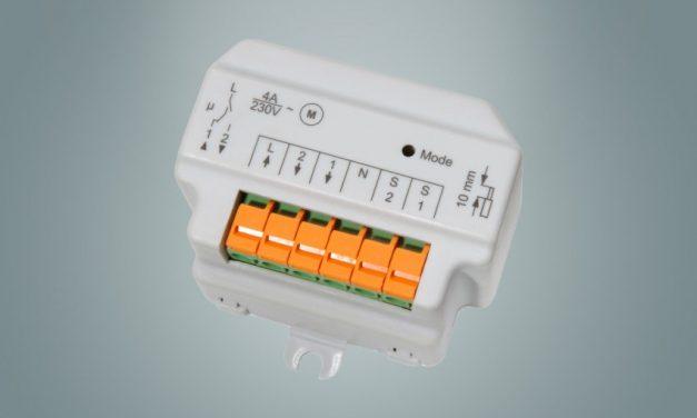 HomeMatic Funk-Rollladenaktor 1-fach, Unterputzmontage (056881)