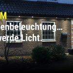 Außenbeleuchtung bei Dämmerung und Coming-Home