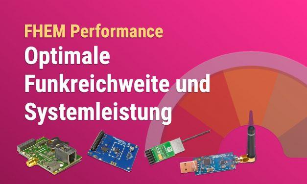 Optimale Funkreichweite und Systemperformance – Busware COC, SCC, CUL und Homematic HM-MOD-RPI-PCB im Vergleich
